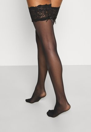 UP SEDUCTIONSEXY - Over-the-knee socks - black