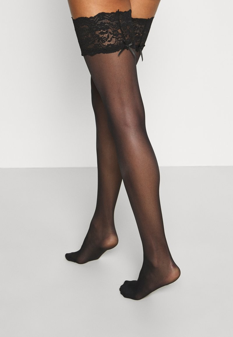 DIM - UP SEDUCTIONSEXY - Overknee-strømper - black