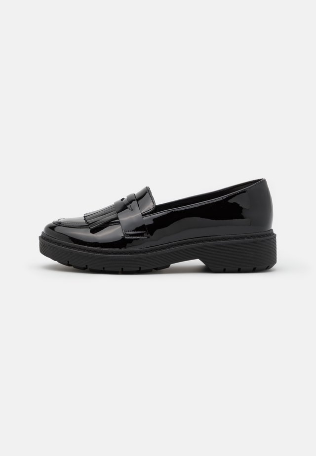 WITCOMBE DAWN - Loaferit/pistokkaat - black