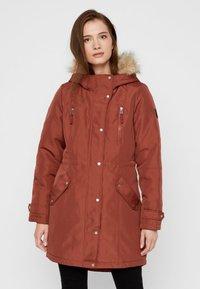Vero Moda - VMTRACK EXPEDITION - Winter coat - brown - 0