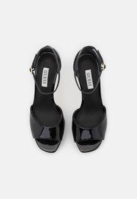 Guess - ALDEN - Platform sandals - black - 5