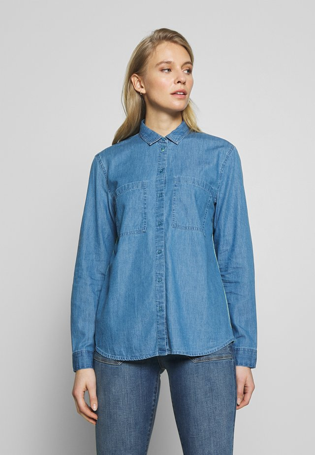 EASY BLOUSE - Camicia - blue