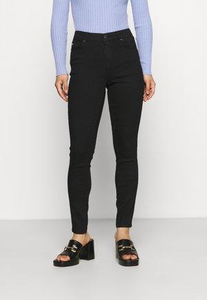 ONLIRIS MID PUSHUP - Jeans Skinny Fit - black