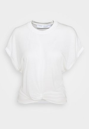 PEARLY - Print T-shirt - cream