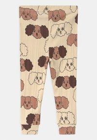 Mini Rodini - FLUFFY DOG UNISEX - Leggings - Trousers - beige - 1