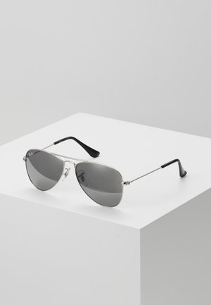 JUNIOR AVIATOR UNISEX - Sonnenbrille - silver-coloured