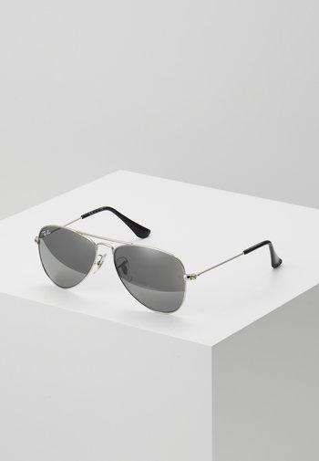 JUNIOR AVIATOR UNISEX - Sunglasses - silver-coloured