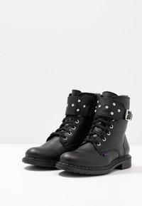 Richter - Cowboy/biker ankle boot - black - 3