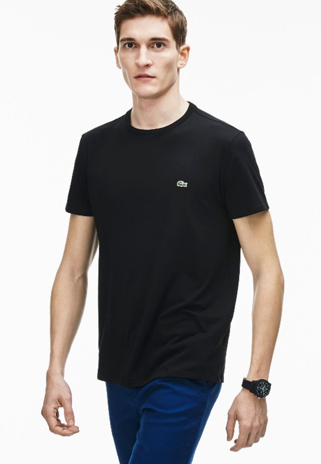 TH6709 - T-shirt basique - noir