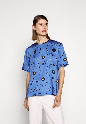 ZIP BACK - Pusero - fresh blue