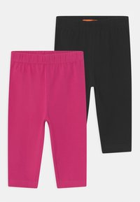 Staccato - CAPRI 2 PACK - Legging - black/pink - 0