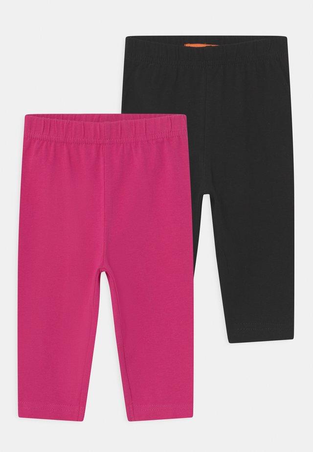 CAPRI 2 PACK - Legíny - black/pink
