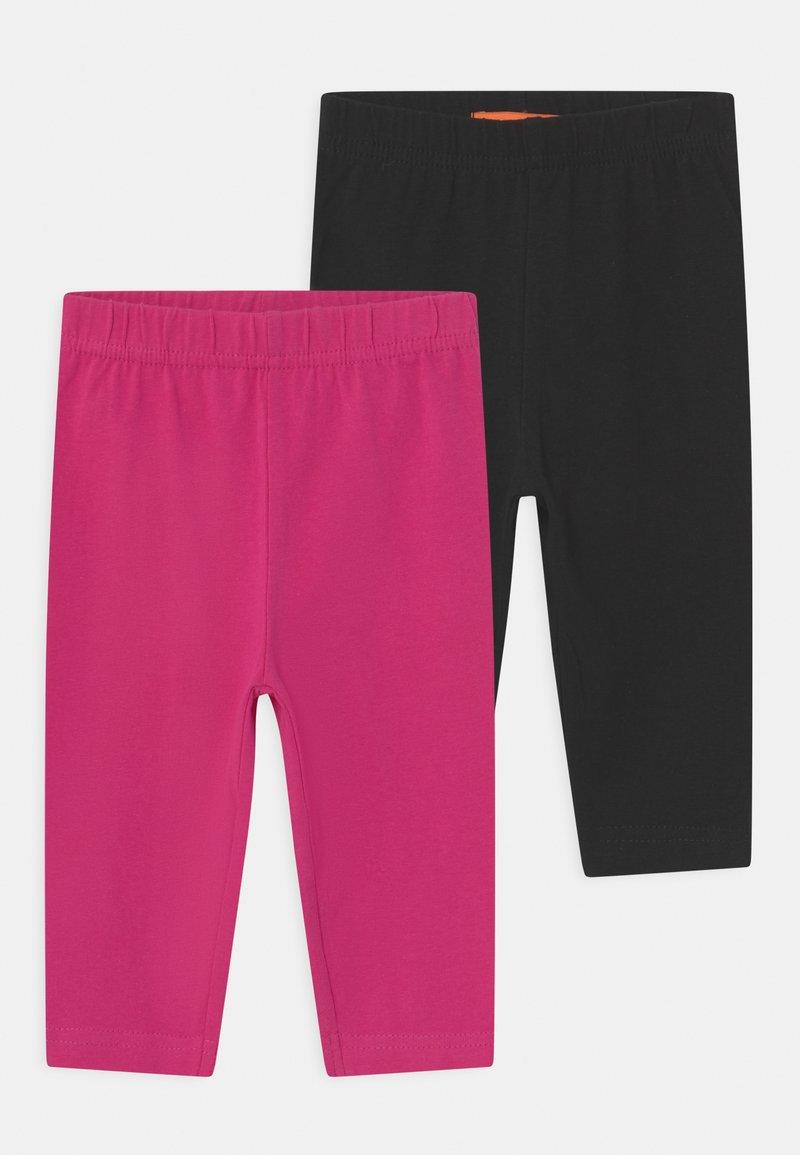 Staccato - CAPRI 2 PACK - Legging - black/pink