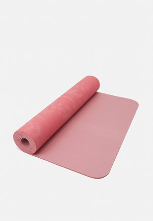 EXERCISE MAT CUSHION 5MM - Fitness/yoga - brilliant pink