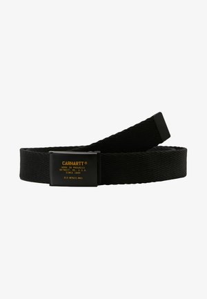 MILIARY PRINTED BELT - Bælter - black