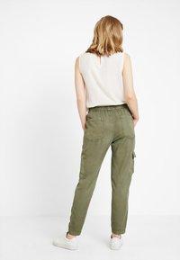 Opus - MUNDINI - Trousers - oliv green - 3