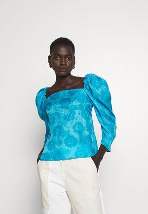 ANITA BLOUSE - Blouse - blue