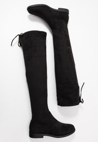 Anna Field Wide Fit - Botas mosqueteras - black - 3