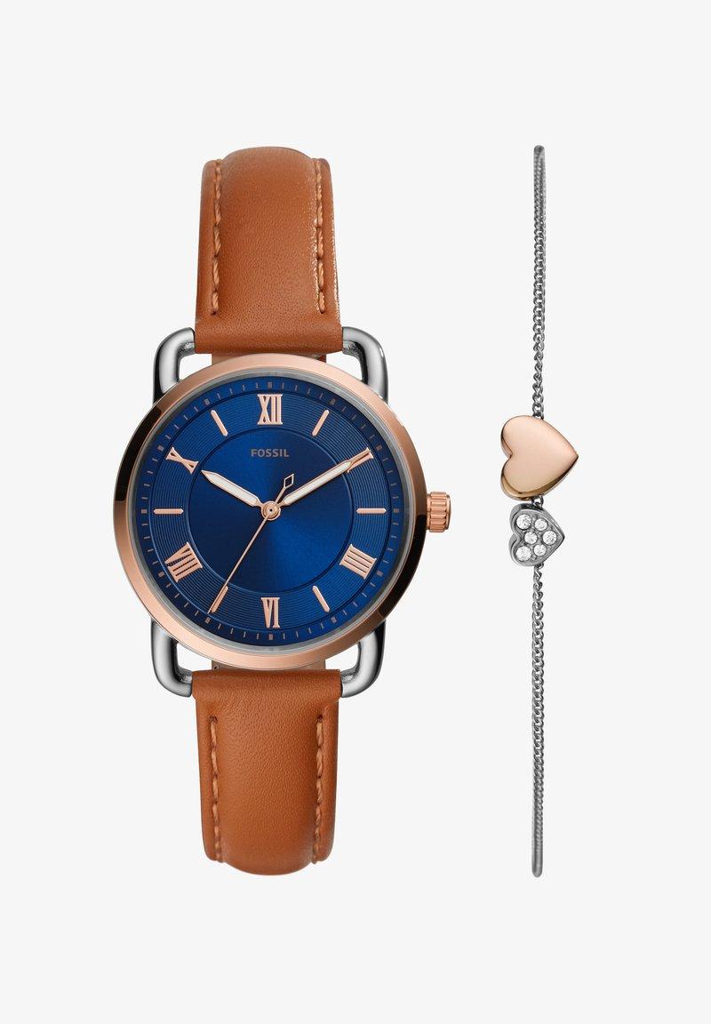 Fossil - COPELAND - Watch - brown