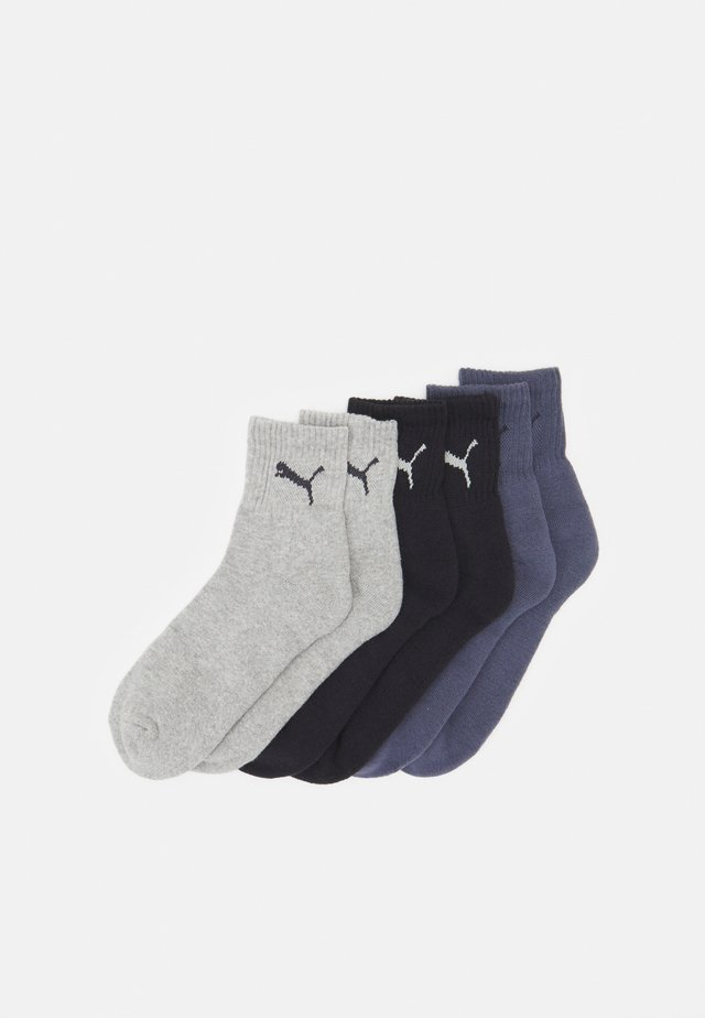 SHORT CREW 6 PACK UNISEX - Sports socks - blue combo