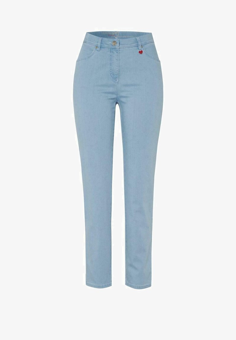 relaxed by TONI - Slim fit jeans - bleached denim
