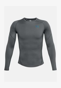 Under Armour - Long sleeved top - pitch gray - 2