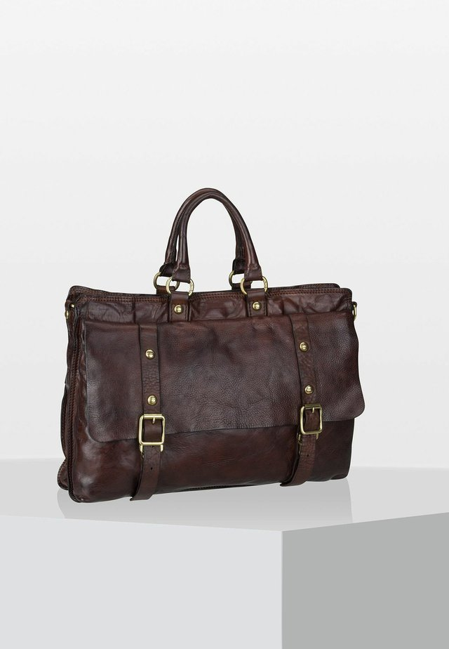 TOKIO  - Briefcase - dark brown