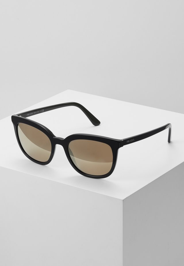 Sunglasses - top black/green