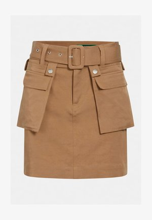 RANDI - Pencil skirt - braun