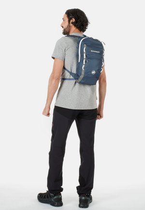 NEON LIGHT - Hiking rucksack - dark blue