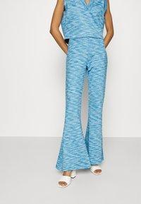 Résumé - DAVI PANT - Trousers - electric blue - 0