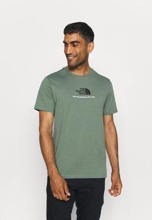 NEW CLIMB TEE - T-shirt con stampa - laurel wreath green