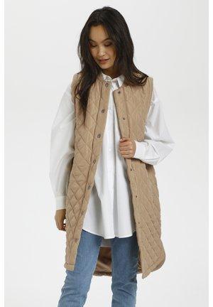 KAMARIA  - Waistcoat - beige