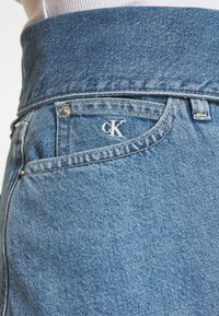 Calvin Klein Jeans - HIGH RISE MINI SKIRT - Denim skirt - blue denim - 6