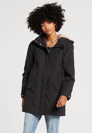 LESS IS MORE - Winter coat - black