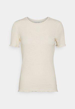 SLUB TEE - Basic T-shirt - soft creme beige