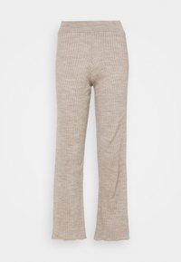 New Look Petite - WIDE LEG TROUSER - Bukse - stone - 0