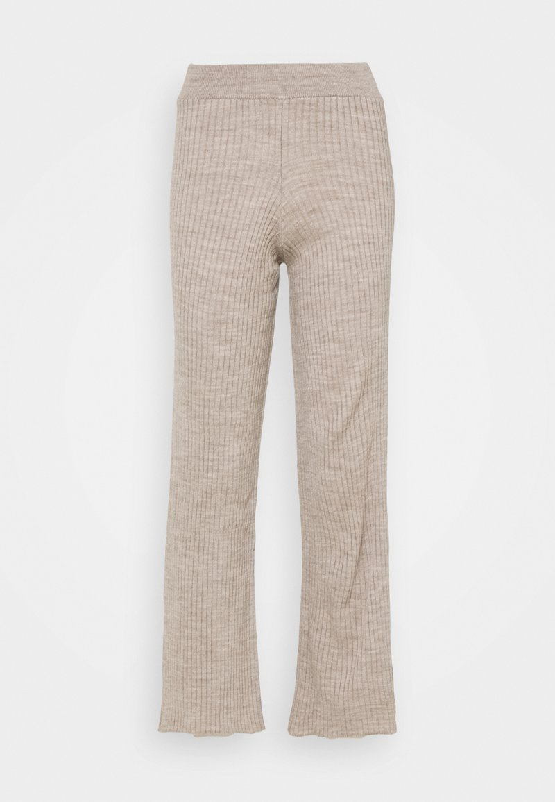 New Look Petite - WIDE LEG TROUSER - Bukse - stone