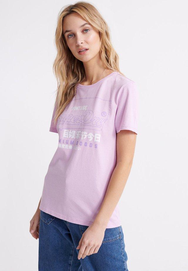 PREMIUM  - Print T-shirt - orchid bouquet