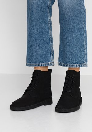 DESERT MALI - Lace-up ankle boots - black