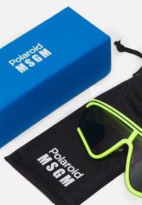 MSGM - POLAROID UNISEX - Sunglasses - fluo yellow - 3