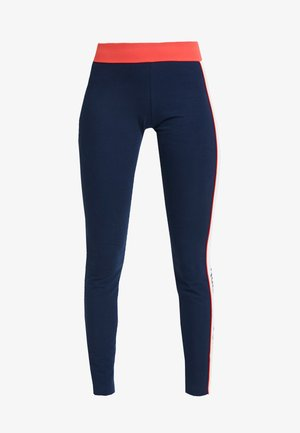 LINEAR - Leggings - Trousers - collegiate navy