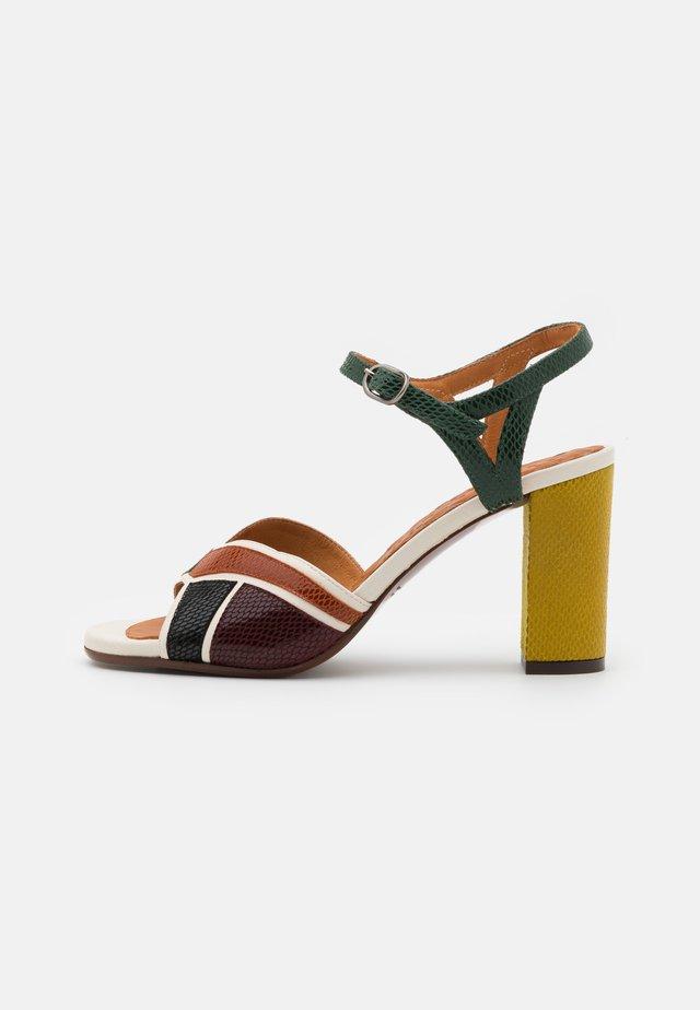 BADRA - Sandály - multicolor