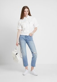 Levi's® - 501® CROP DIAMOND IN THE ROUGH 501 CROP - Jeansy Straight Leg - rough 501 crop - 1