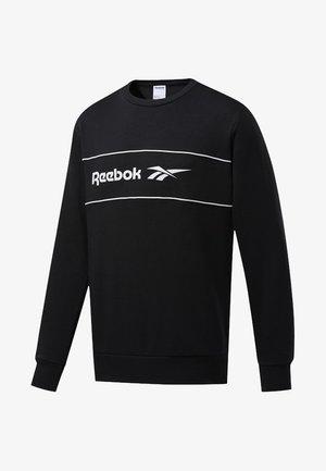 CLASSICS LINEAR CREW SWEATSHIRT - Sweatshirt - black