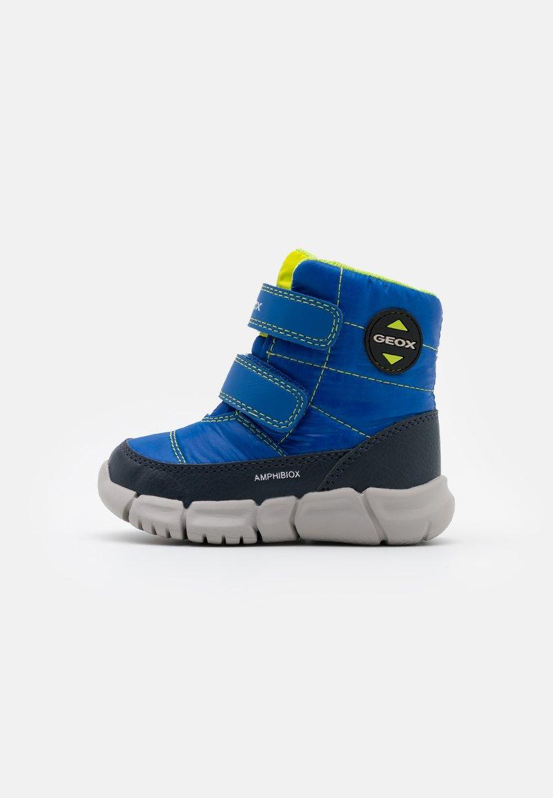 Geox - FLEXYPER BOY ABX - Winter boots - royal/navy