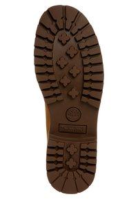 Timberland - Šněrovací vysoké boty - wheat nubuck - 2