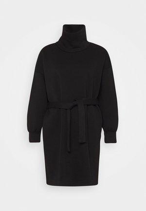 ONLKYLIE HIGHNECK BELT DRESS - Day dress - black