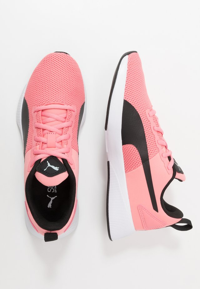 FLYER RUNNER JR UNISEX - Zapatillas de running neutras - salmon rose/black/white