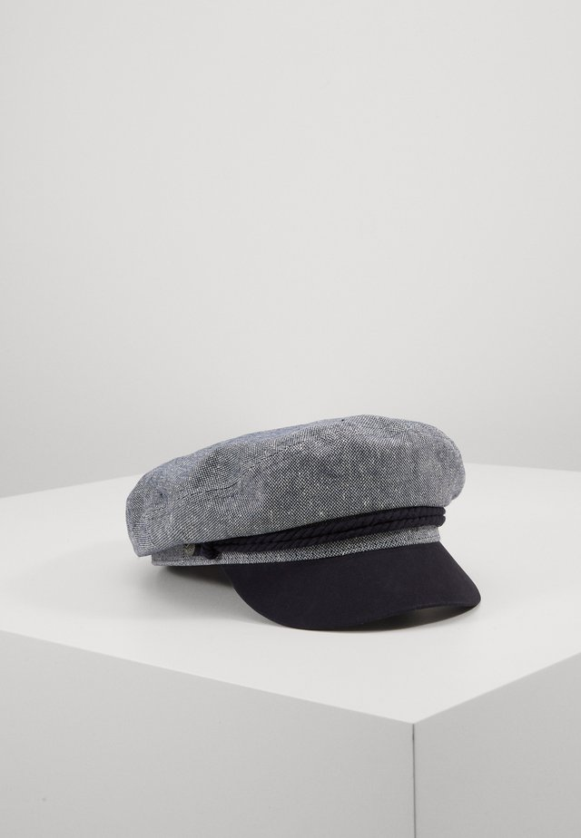 FIDDLER CAP - Czapka - navy/off white